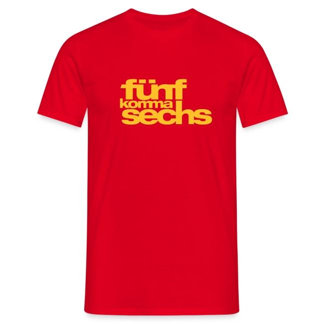5,6 T-Shirt 190 signalrot