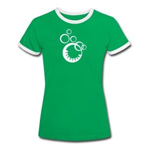 BOKBUBBLA - Kontrast-T-shirt dam