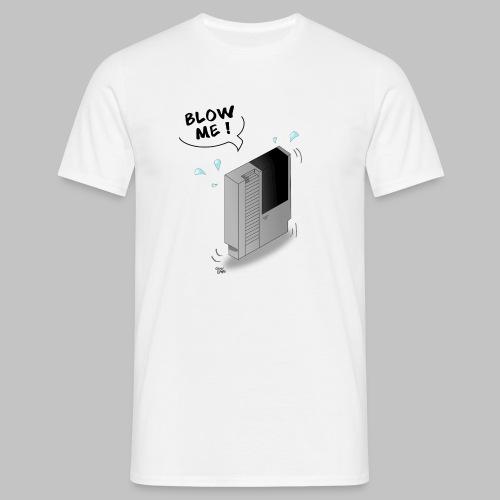 T-shirt Homme (man) Blow me! - Men's T-Shirt