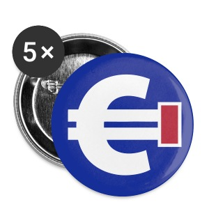 BADGE impasse euro - Badge moyen 32 mm