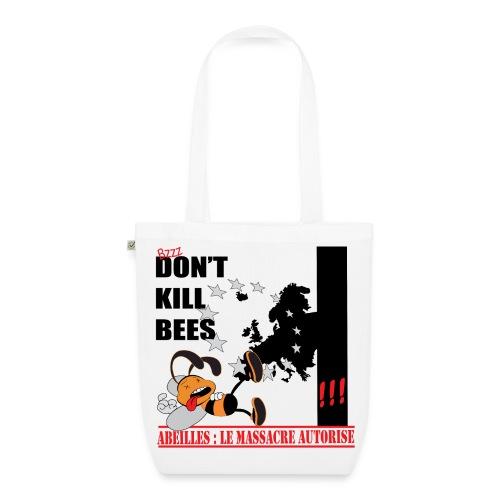 SAC en tissu BIO don't kill bees - Sac en tissu biologique