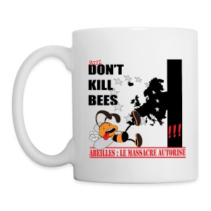 MUG don't kill bees - Mug blanc