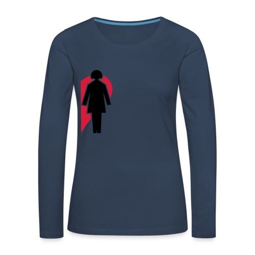 love (girls) - Women's Premium Longsleeve Shirt