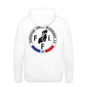 SWEAT à capuche homme FFi coq - Sweat-shirt à capuche Premium pour hommes