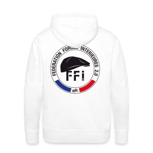 SWEAT à capuche homme FFi béret - Sweat-shirt à capuche Premium pour hommes