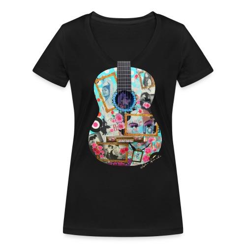Modell Ibiza 17 - Frauen Bio-T-Shirt mit V-Ausschnitt von Stanley & Stella
