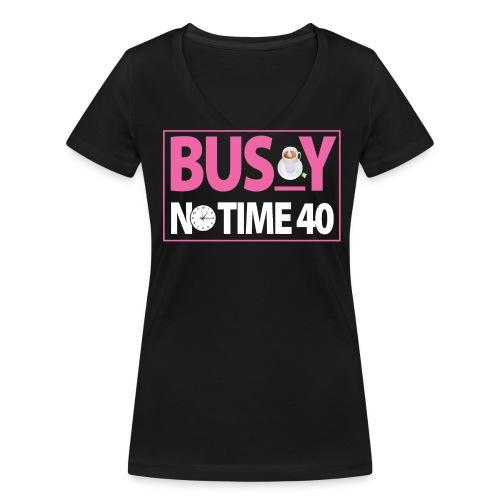 BUSY - T-shirt bio col V Stanley & Stella Femme
