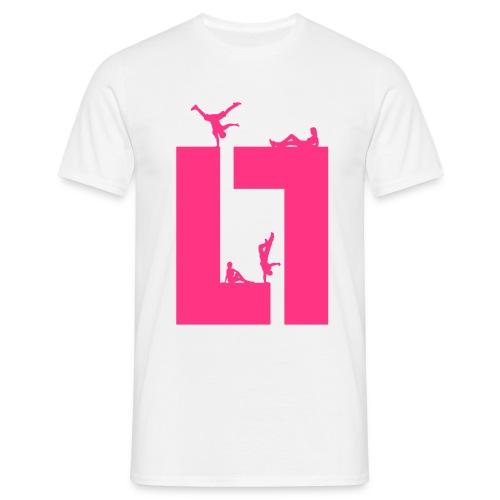 PLAY M-TEE MAGENTA - Herre-T-shirt