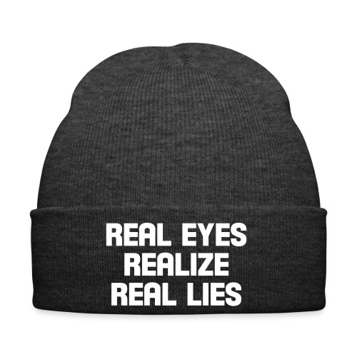 real eyes - Wintermütze