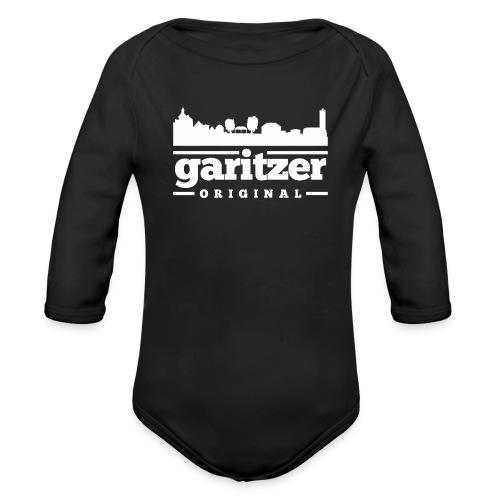 garitzer ORIGINAL Baby-Body mit Skyline - Baby Bio-Langarm-Body