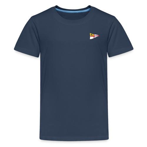 Teenager T-Shirt, ROYC klein/mehrfarbig Flock-Druck - Teenager Premium T-Shirt
