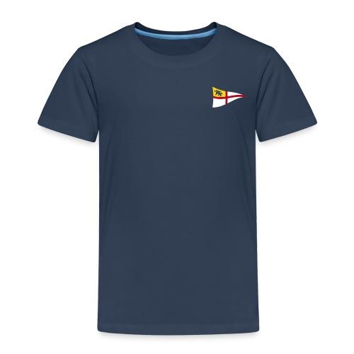 Kinder T-Shirt, ROYC klein/mehrfarbig Flock-Druck - Kinder Premium T-Shirt