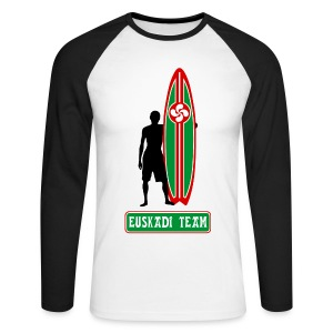 Euskadi surfing team - Men's Long Sleeve Baseball T-Shirt