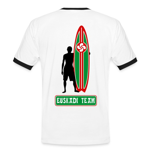 Euskadi surfing team - Men's Ringer Shirt