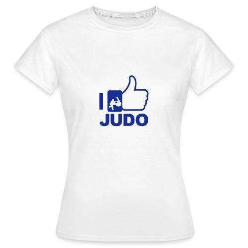 I Like Judo - T-shirt Dam - T-shirt dam