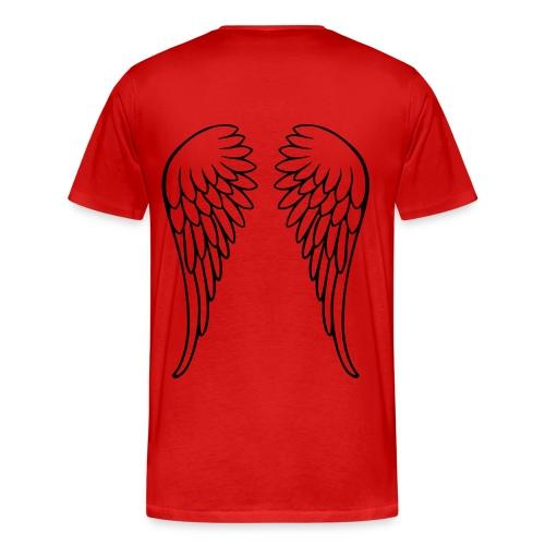 Red Leaf2 - Miesten premium t-paita