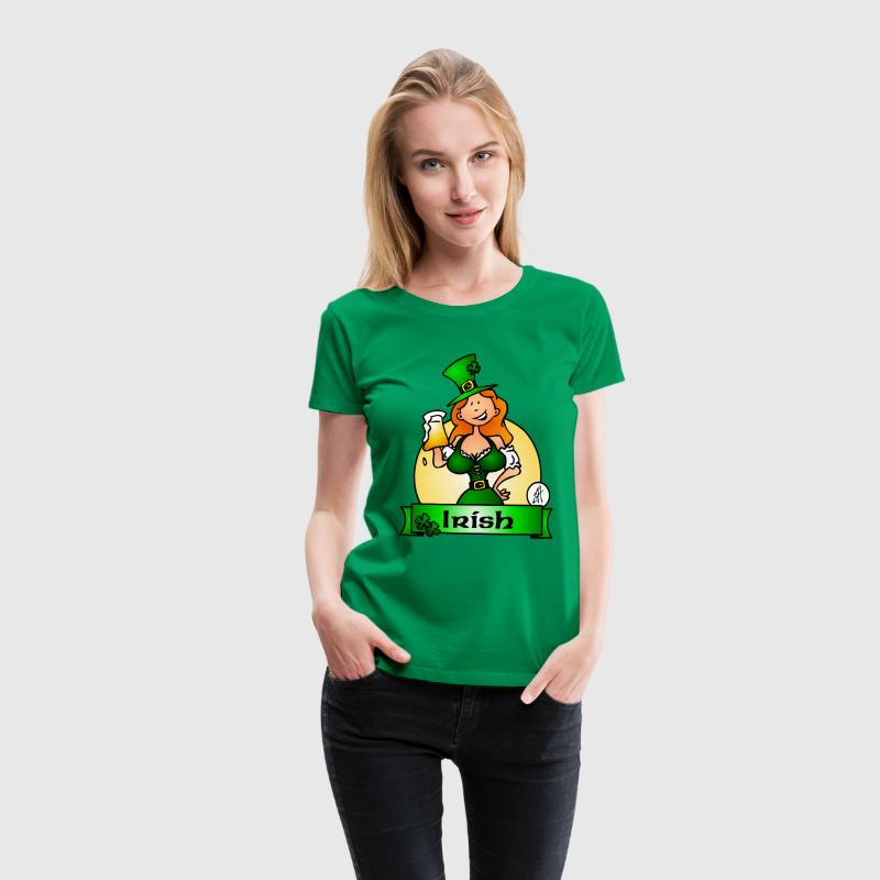 St. Patrick's Day Irish Maiden T-Shirts - Women's Premium T-Shirt