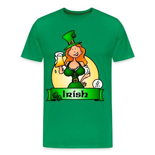St. Patrick's Day Irish Maiden - Men's Premium T-Shirt