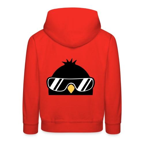 Pinguin is watching u - Kinder Premium Hoodie