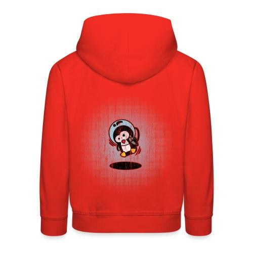 Pinguin Astronaut - Kinder Premium Hoodie