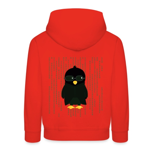 Pinguin Matrix - Kinder Premium Hoodie