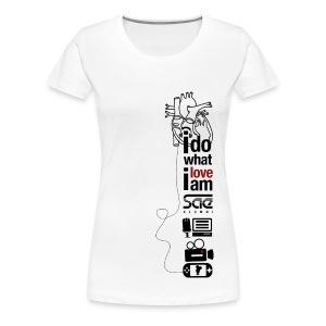 SAE Love - Girls - Women's Premium T-Shirt