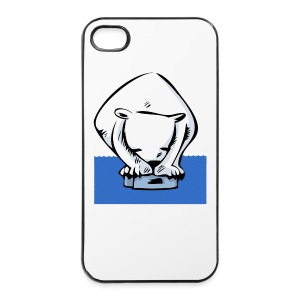 last polar bear - iPhone 4/4s Hard Case