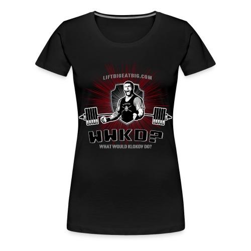 WWKD? - Women's Premium T-Shirt