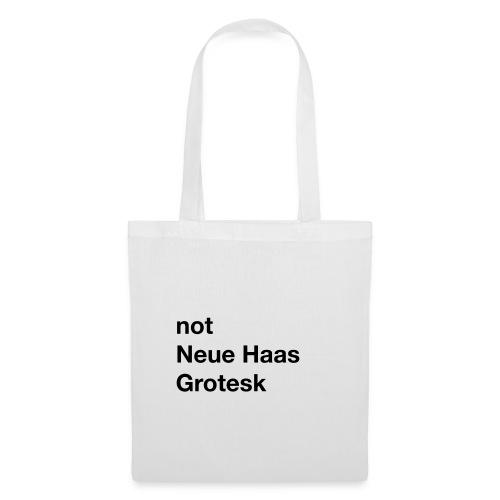 notneuehaasgrotesk - Tote Bag