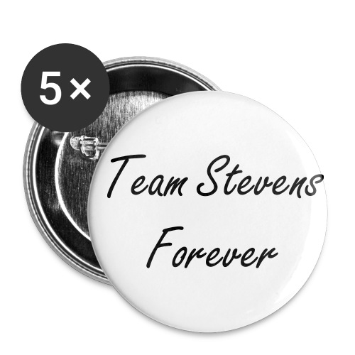 Lot de 5 Badges Team Stevens - Badge petit 25 mm