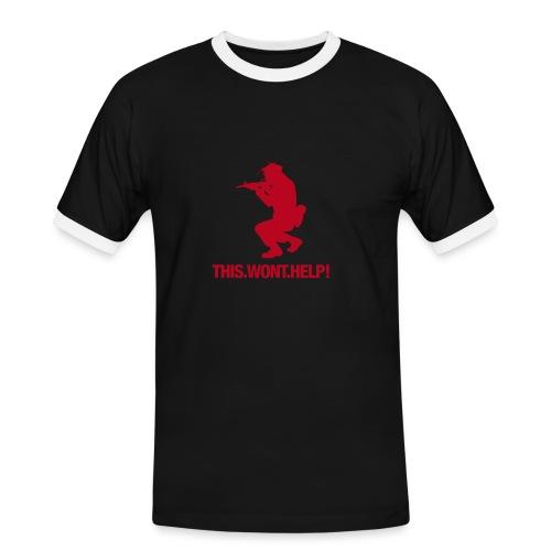 Sinn des Krieges ! - Männer Kontrast-T-Shirt