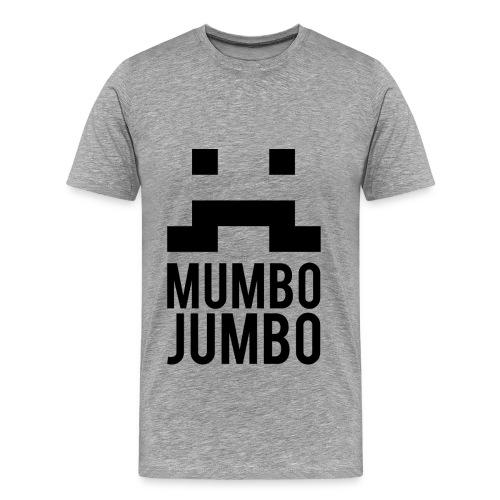 The Moustache T-Shirt [Male] - Men's Premium T-Shirt