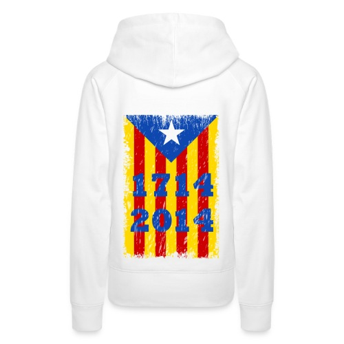 1714-2014 - Sudadera con capucha premium para mujer