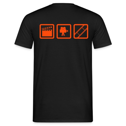 Film orange - T-shirt Homme