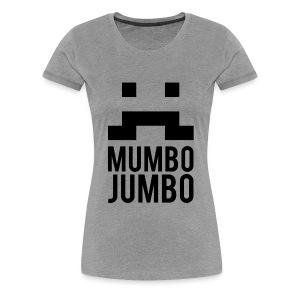 The Moustache T-Shirt [Female] - Women's Premium T-Shirt