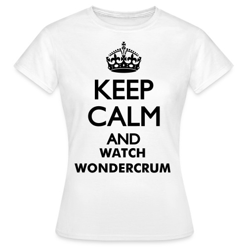 Women's Standard T-Shirt 'Keep Calm' - Women's T-Shirt