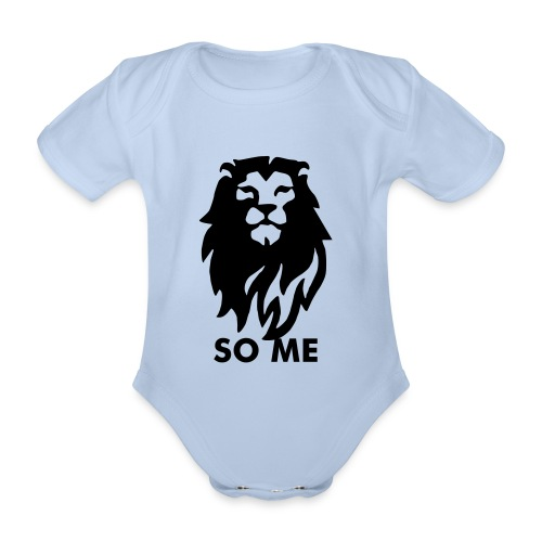 Lion So Me Babies - Organic Short-sleeved Baby Bodysuit