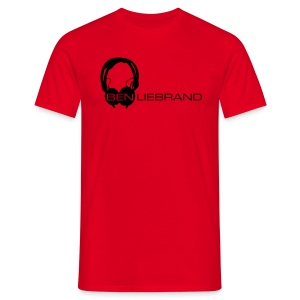 HD25 on Black - Mannen T-shirt