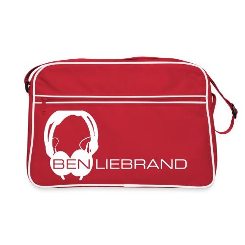 HD25 on Red Bag - Retro-tas
