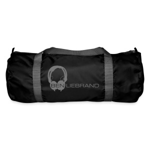 HD25 on Duffel Bag black - Sporttas