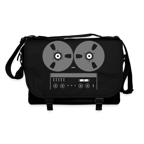 A77 on shoulder Bag Black - Schoudertas