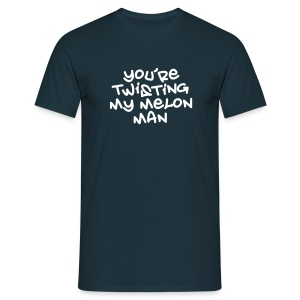 Twisting My Melon T-shirt - Men's T-Shirt