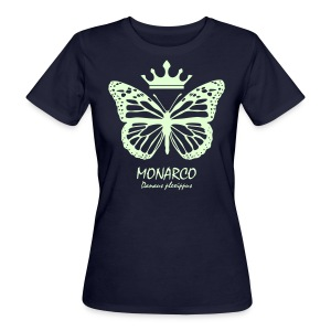 Monarco Royal - glow in the dark - Frauen Bio-T-Shirt
