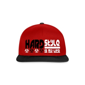CASQUETTE HARDSTYLE IS MY LIFE - Casquette snapback