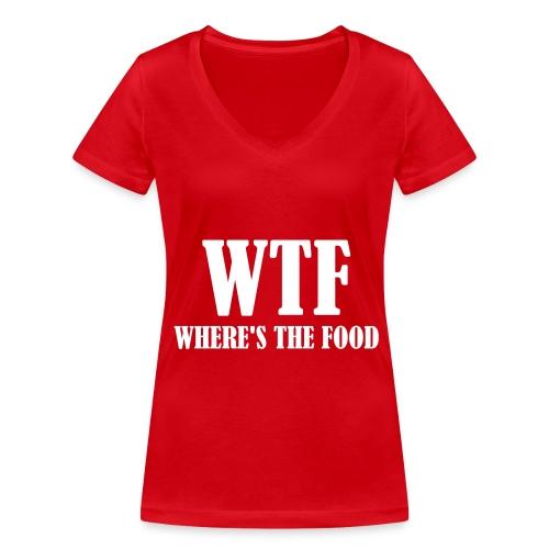 Gold Physique Womens V - Neck - Women's Organic V-Neck T-Shirt by Stanley & Stella