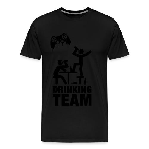 Drunk Gamers - Herre premium T-shirt