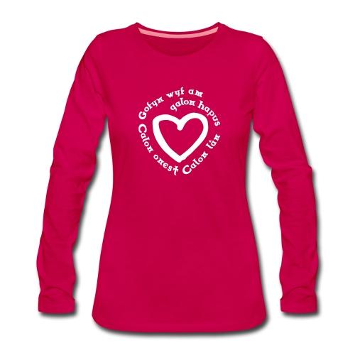 Calon Lân Longsleeve Shirt - Women's Premium Longsleeve Shirt