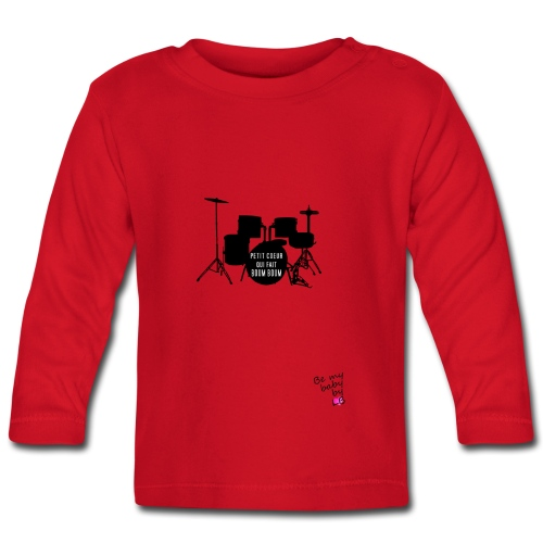 T-shirt batterie - T-shirt manches longues Bébé