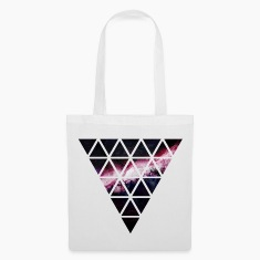 triangle of triangles galaxy Bags & Backpacks