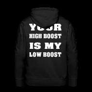 Pullover & Hoodies ~ Männer Premium Kapuzenpullover ~ Boosted